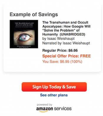 Google Transhuman Apocalypse Audible Free