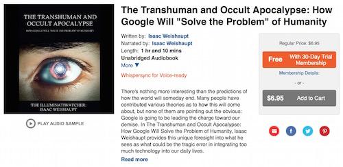 Google Transhuman Apocalypse Audible