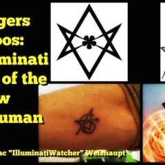 Avengers Tattoos: The Illuminati Symbol of the New Transhuman