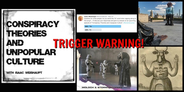 Ctauc Podcast Trigger Warning Alien Psyops Moloch Deadpool And