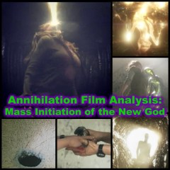 Annihilation Film Analysis: Mass Initiation of the New God