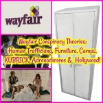 Wayfair Conspiracy Theories: Human Trafficking, Furniture, Camps, KUBRICK, Adrenochrome and Hollywood Movies!