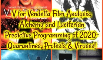 V for Vendetta Film Analysis: Alchemy and Luciferian Predictive Programming of 2020- Quarantines, Protests & Viruses!