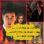 The Devil's Advocate: Faustian Pact, Satanic Contracts, Black & White Checkered Floor Film Symbolism!