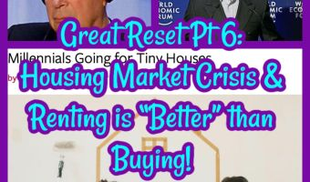 """Great Reset Pt 6: Housing Market Crisis & Renting is """"Better"""" than Buying!"""