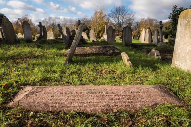 McClure's grave.