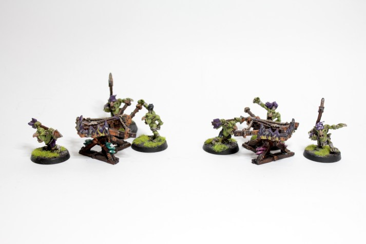 Squig Poppers, for when the battle-line gets a bit too out of line