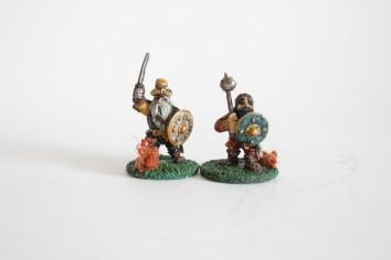 2 Citadel Dwarf Warriors - 80s