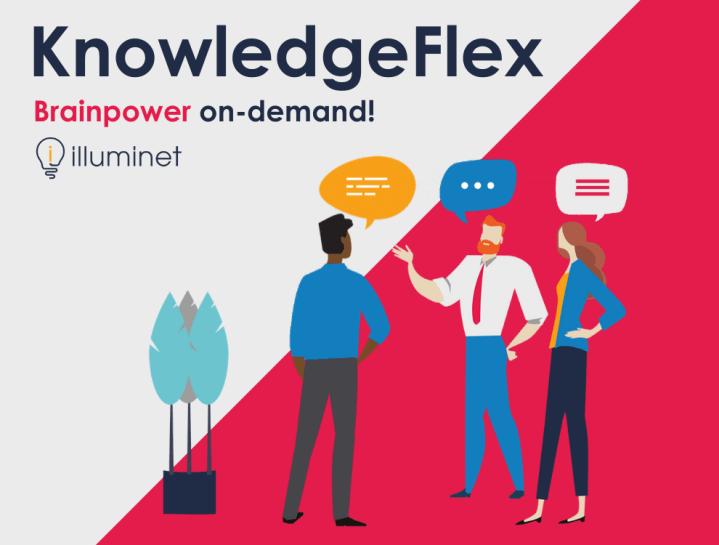 KnowledgeFlex – rapid access to brainpower!