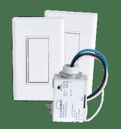 3 way wireless light switch kit [ 1000 x 1000 Pixel ]