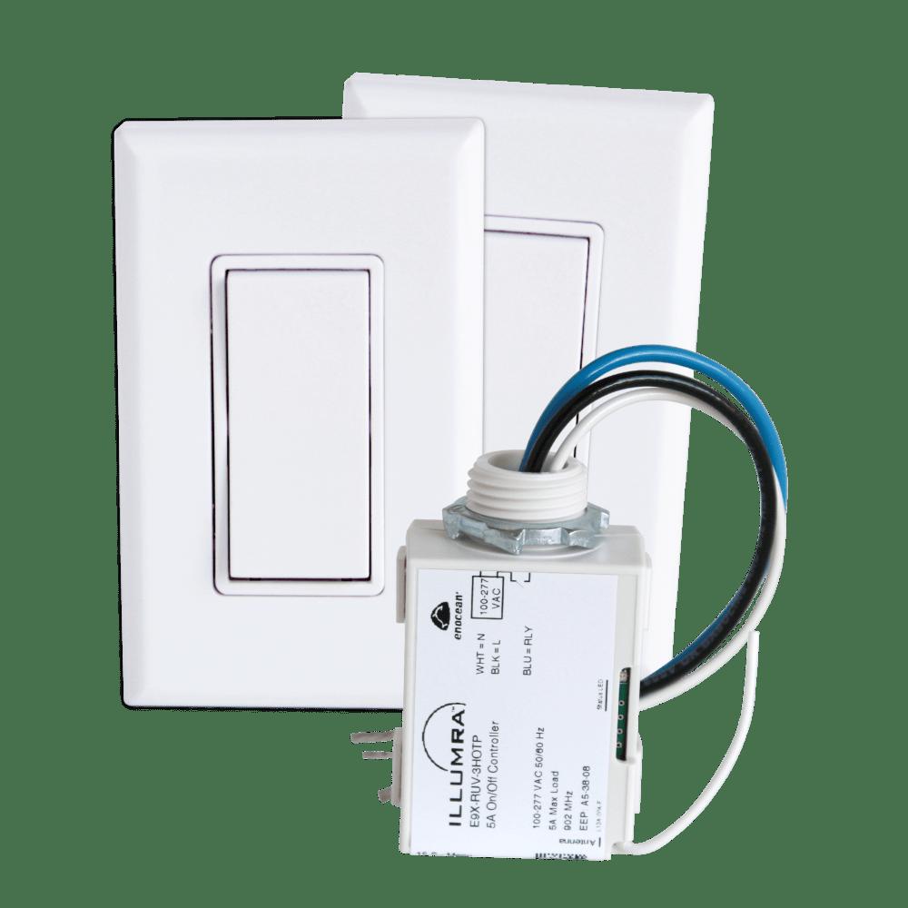 medium resolution of 3 way wireless light switch kit