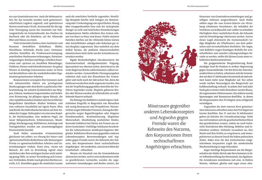 NZZ Geschichte, Die Eid-Genossenschaft, Seite 4