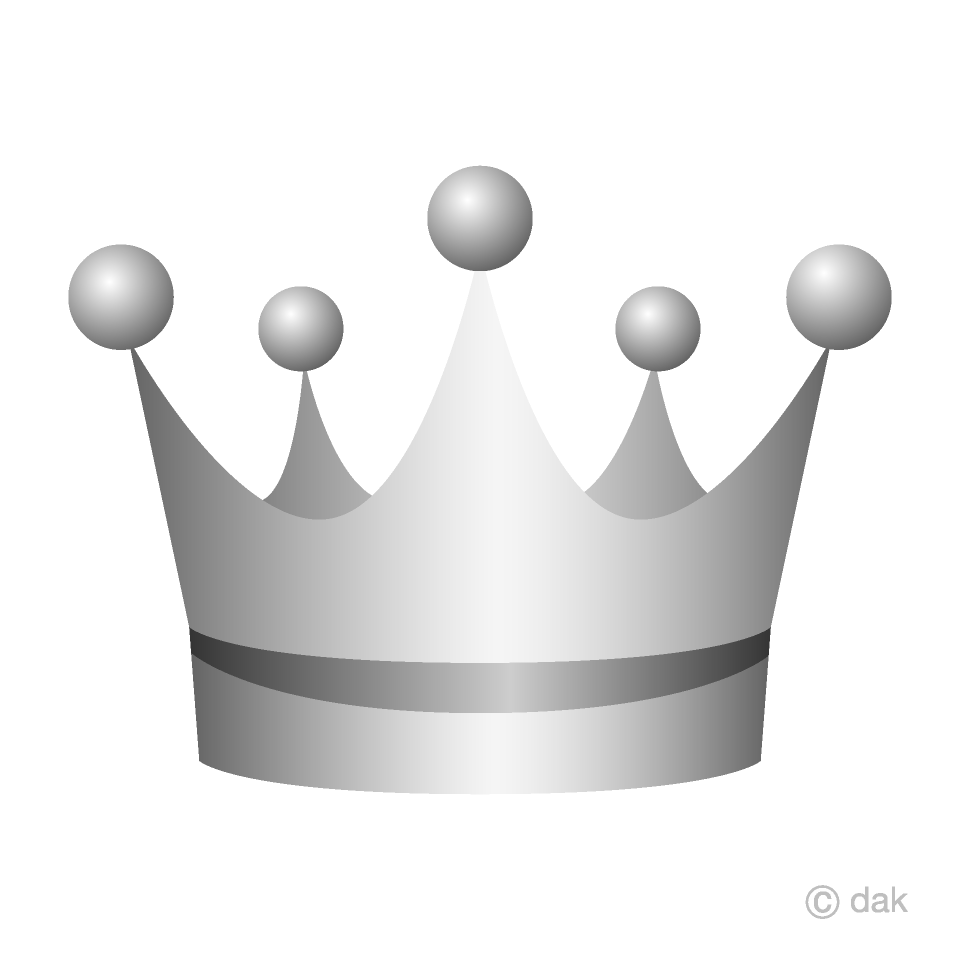 hight resolution of silver crown clipart
