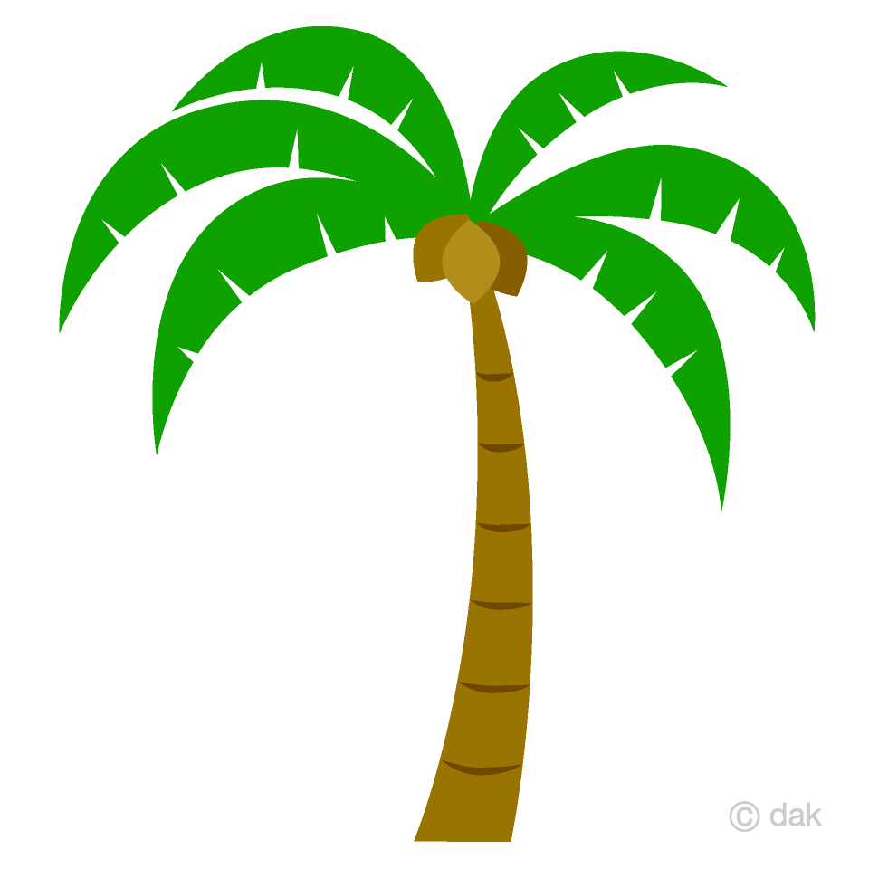 hight resolution of simple palm tree clipart picture for free download