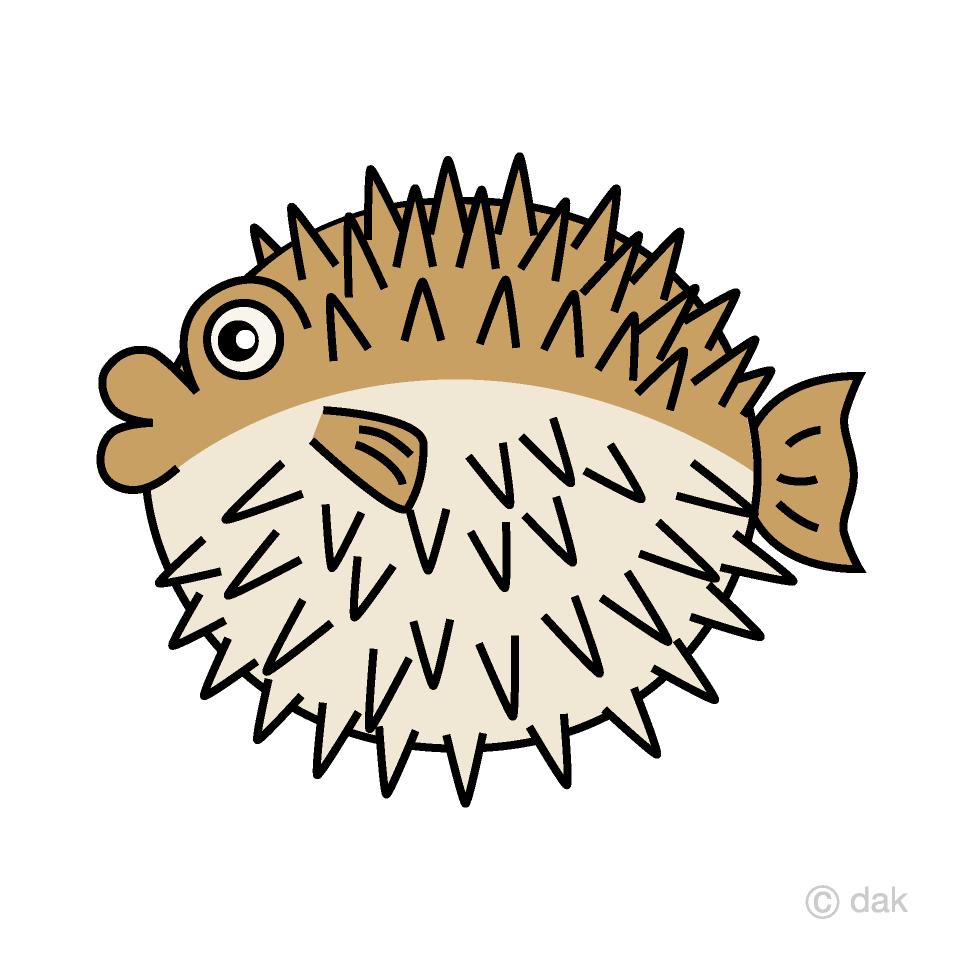 medium resolution of porcupine fish clipart