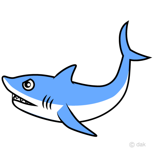 small resolution of shark clipart picture for free download