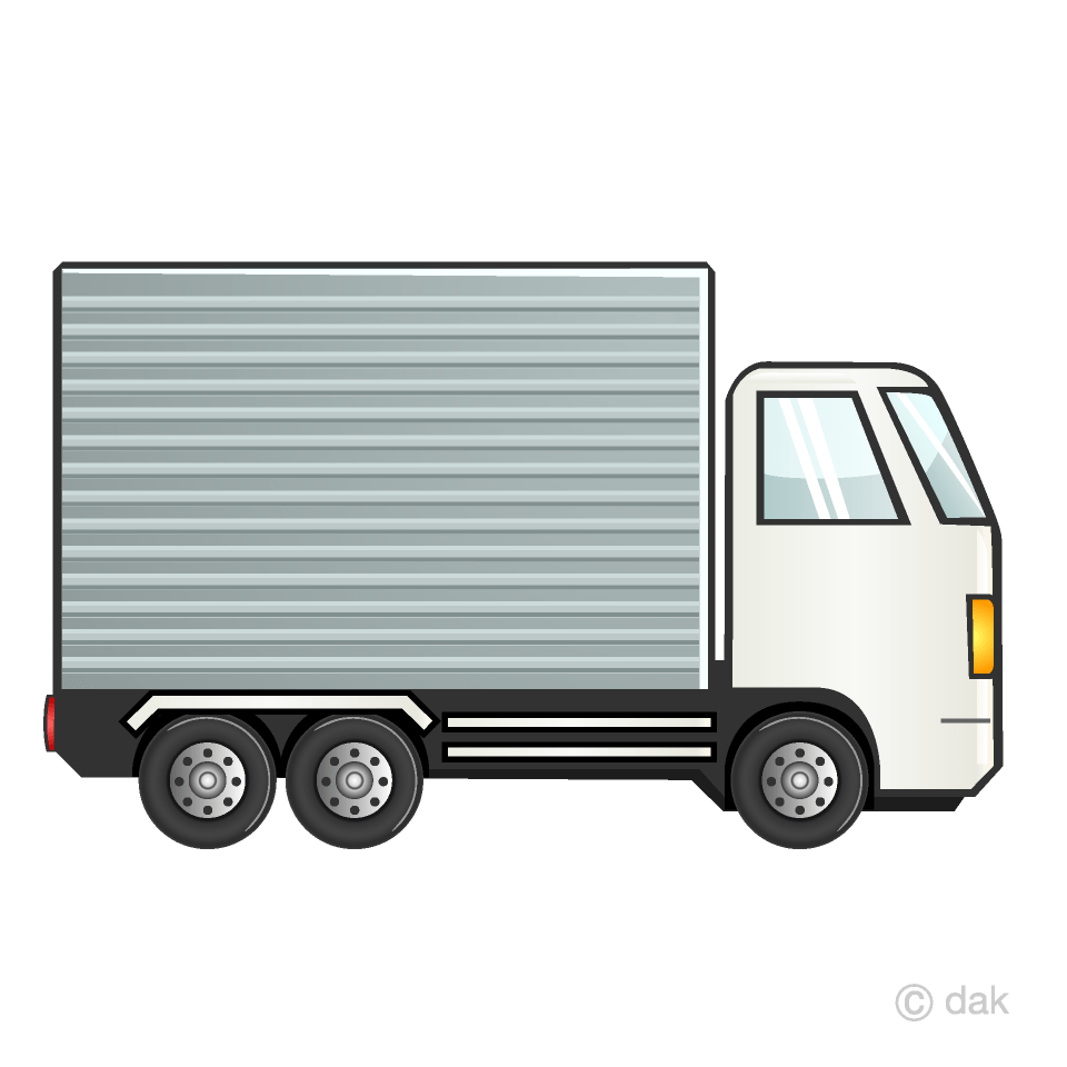 hight resolution of container truck clipart