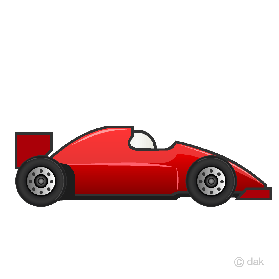medium resolution of red racing car clipart