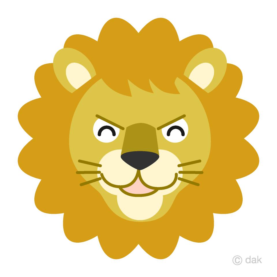 medium resolution of smile lion face clipart