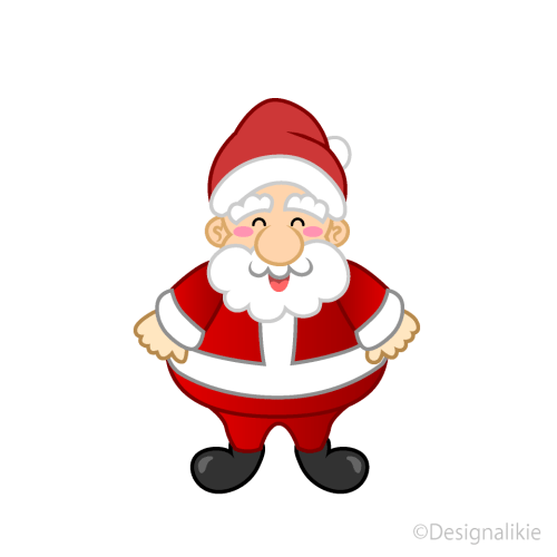 small resolution of smiley santa claus clipart