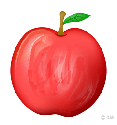 delicious red apple clipart [ 960 x 960 Pixel ]