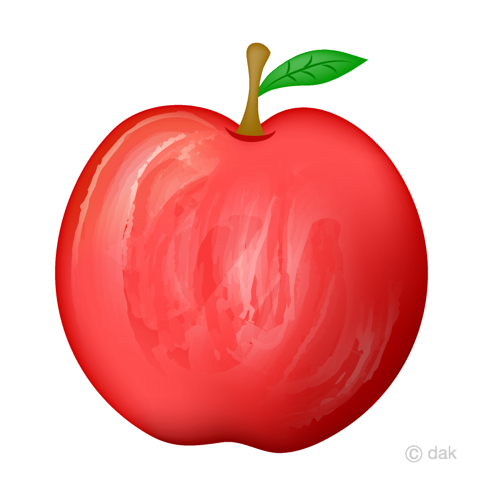 medium resolution of delicious red apple clipart