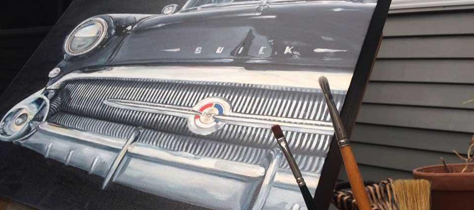 57 Buick art New Zealand