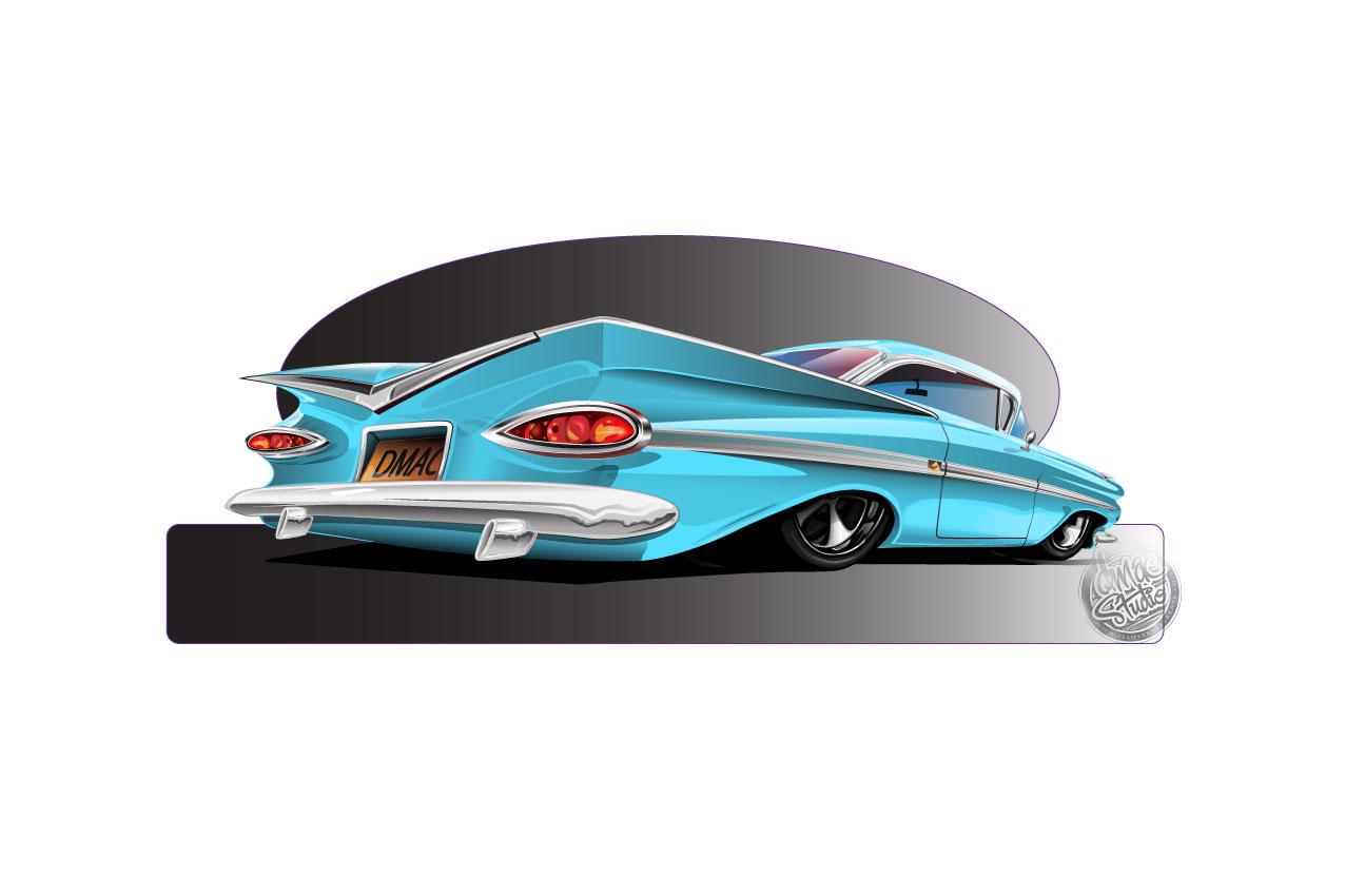 59 impala blue