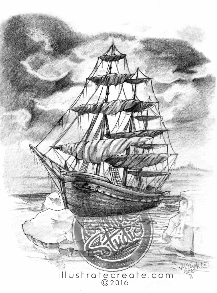 Naval art Clipper ship