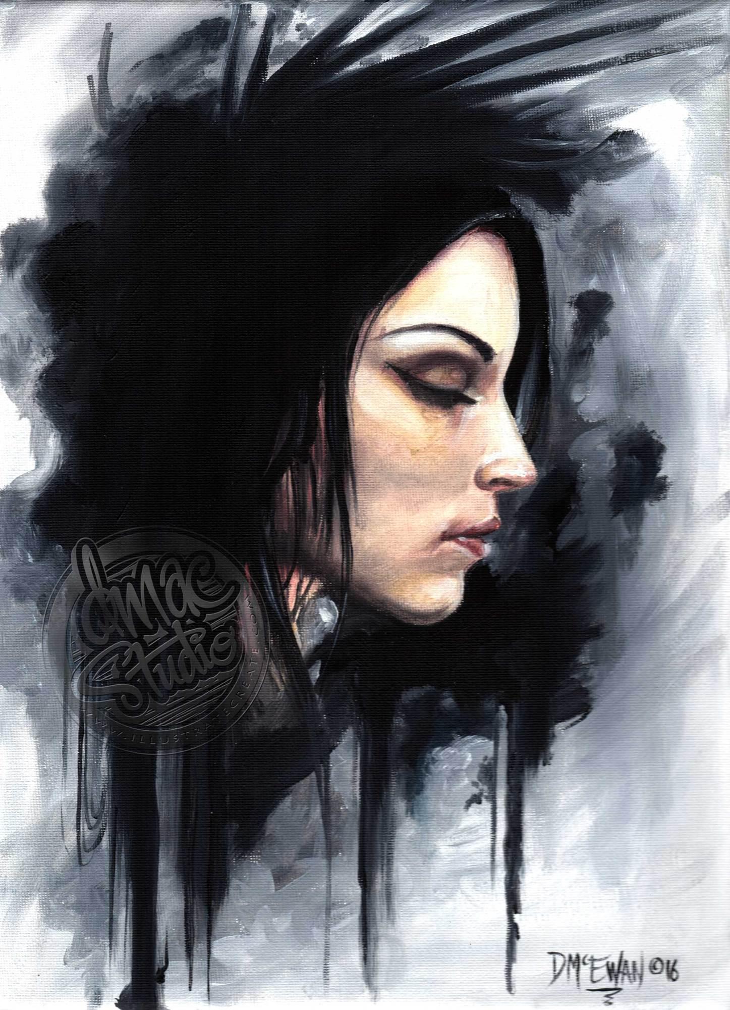 Original art by Dave McEwan