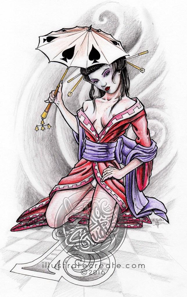 geisha lucky 13
