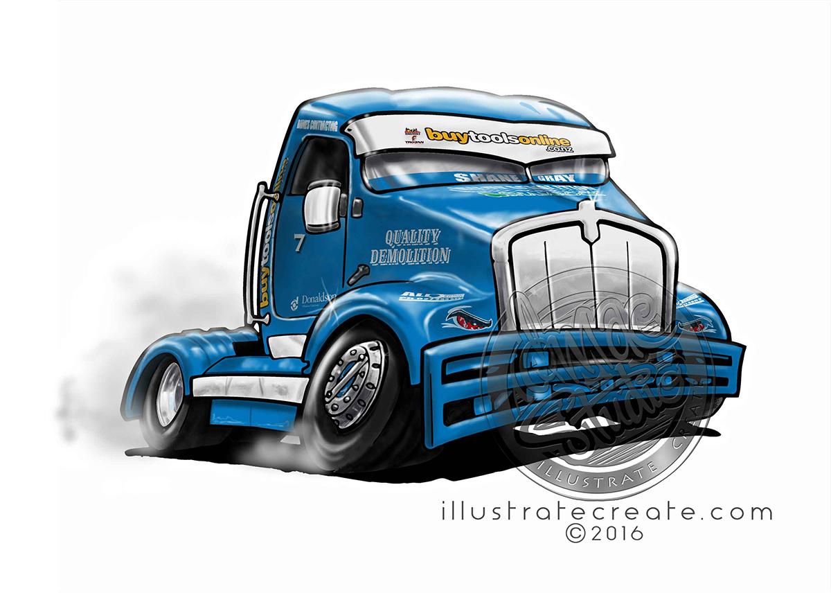 Quality Demolition Truck Racing