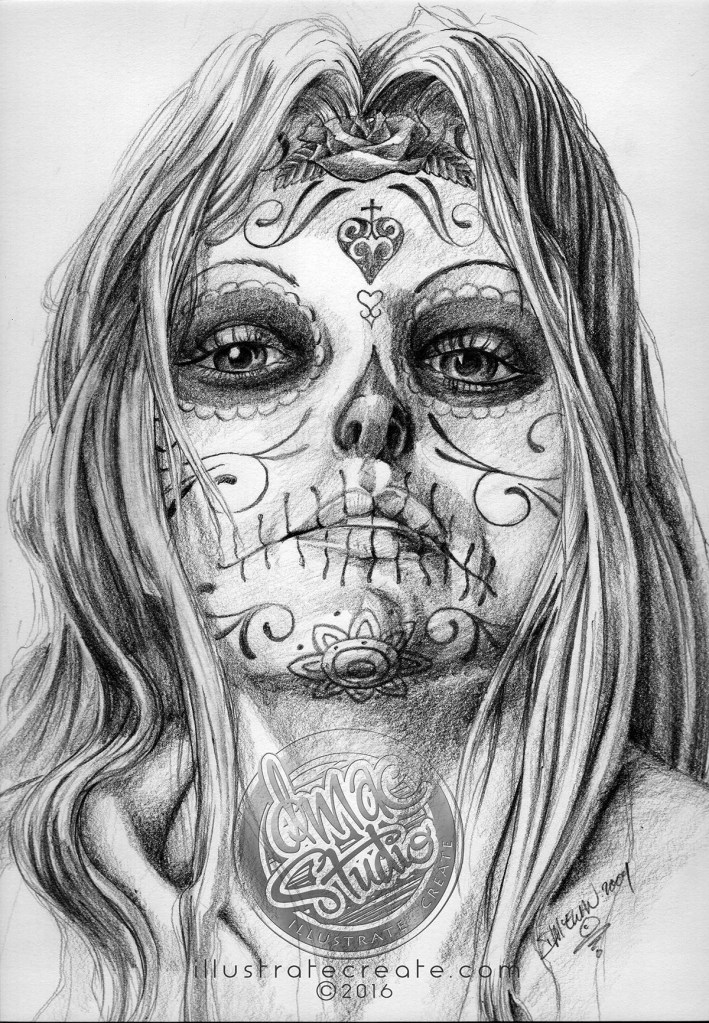 Day of the Dead art