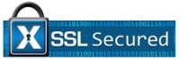 This website is secured with an SSL Certificate