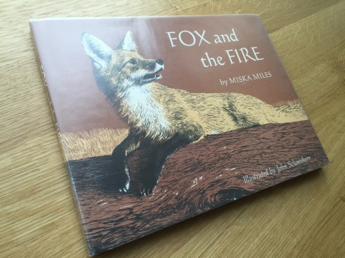 Illistrated book, Fox and the Fire, Schoenherr