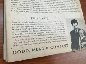 The Matchlock Gun, Paul Lantz