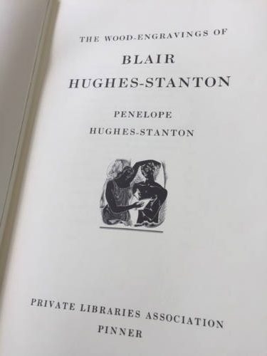 The Wood Engravings of Blair Hughes-Stanton