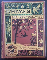 Rhymes and Roundelays, foil blocked book cover