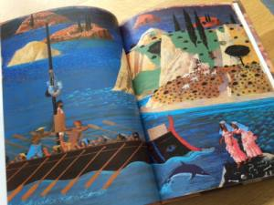 The Adventures of Odysseus, Illustrated by Peter Malone
