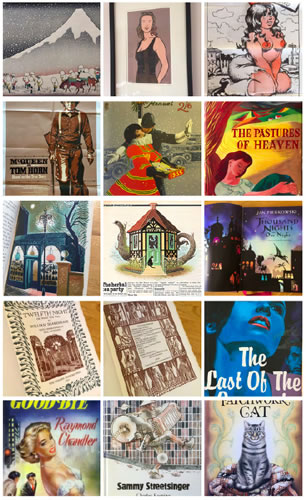 Illustrated books, posters and collectables