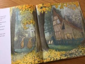 A House in the Woods, written and illustrated by Inga Moore