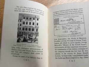 One Hundred Years of Publishing, Little, Brown and Company, Boston