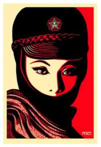 Mujer Fatale, Shepard Fairey Poster