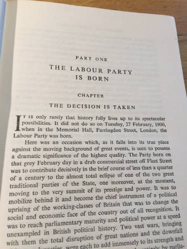 Fifty Years March, The Rise of the Labour Party