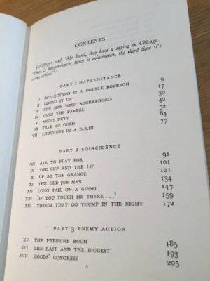 Goldfinger, Ian Fleming, hardback 1959