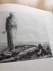Percy Delf Smith, Etching 'Death Awed'