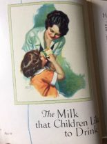 You can save on your milk bill, Americn recipes, 1926