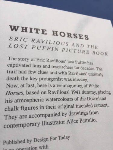 White Horses, Eric Ravilious