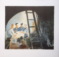 Ravilious-Submarine-Ward-Room-2-Camberwell-lithograph