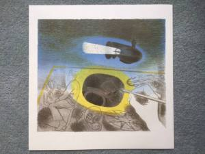Ravilious, Submarine Dream, introductory lithograph
